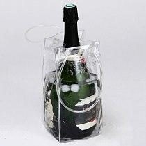 Fast ice wine beer PVC cooler bag outdoor Ice gel bag Picnic cold bags wine coolers frozen bag bottle cooler