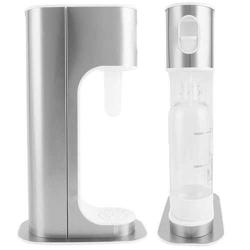 Soda Machine Portable Bubble Soda Water Machine Manual Sparkling Water Drink Maker for Home Commercial Use Soda Siphon
