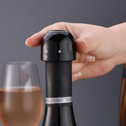 Vacuum Red Wine Stopper Silicone Sealed Champagne Bottle Stoppers Sealer Retain Freshness Stopper Home Bar Accessories