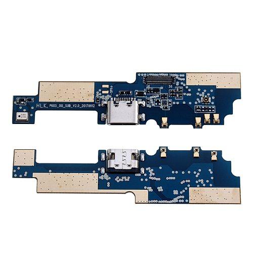 ocolor For Oukitel K5000 Button Flex Cable Power+Volume Button Speaker Earpiece USB Plug Charge Board Loud Speaker Accessories