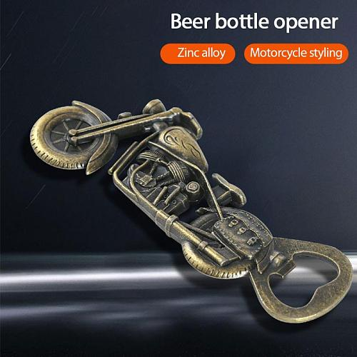 NEW Retro Motorcycle Beer Bottle Opener Corkscrew Portable Drink Opening Party Outdoor Camping Kitchen Bar Tool Souvenir Gifts