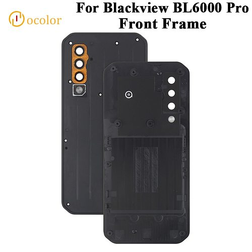ocolor For Blackview BL6000 Pro Front Frame For Blackview BL6000 Pro Replacement Cover Panel Sticker Middle frame Accessories
