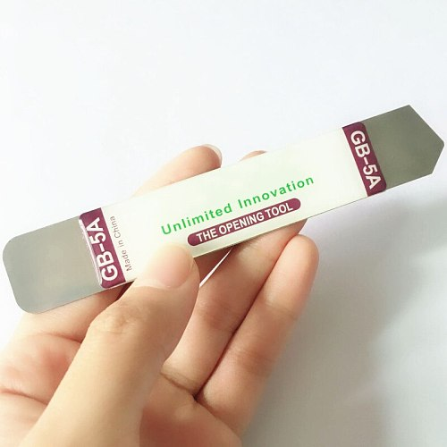 1/2 Pcs/set Metal Flat Spudger Soft Blade Pry Bar Open Repair Tool kit for Mobile Phone Electronic Broken Screen Glue Removal