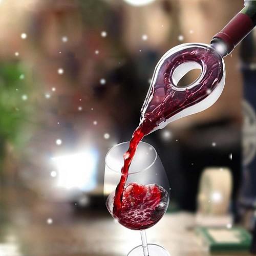 Wine Decanter Magic Decanter Essential Wine Quick Aerator Pour Spout Decanter Mini Travel Wine Filter Air Intake Pour KC0008