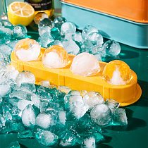 4/13 Grid Plastic Ice Tray Spherical Ice Mould DIY Ice Cream Mould Whiskey Cocktail Ice Ball Ice Maker Kitchen Bar Accessories
