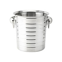 Ice Bucket Drinking Bottle Cooler Tool Stainless Steel KTV Vintage Wine Chiller Bar Supplies Stainless Steel Kitchen Tools