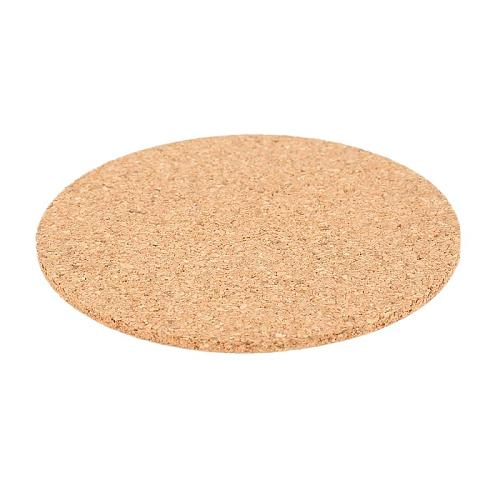 1Pcs Creative Round Cork Coasters Coffee Drink Tea Cup Mat Placemats Wine Table Mat Placemats Heat-resistant Cup Coaster