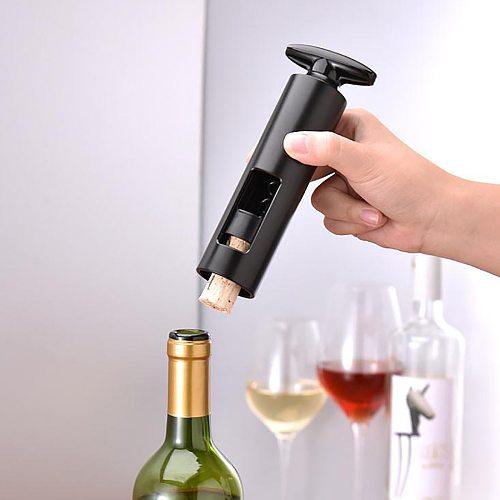 Red Wine Seah-orse Knife Corkscrew Kitchen Tool Red Wine Sim-ple Opener Kitchen Accessories Gadgets Bottle Opener #YJ