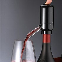 Automatic Wine Pourer Electric Red Wine Dispenser Wine Aerator Decanter Electric Wine Pourer Tool Kitchen Bar Accessories