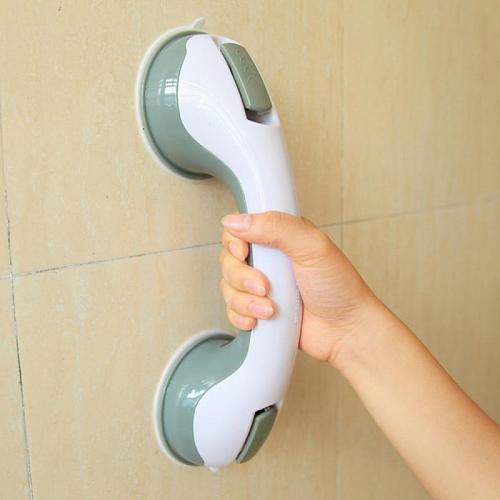 2021 New 1PC Bathroom Grip Handle Safety Strong Mount Grab Handle Support Shower Tub Suction Cups Grab Bar Support Bathroom Tool