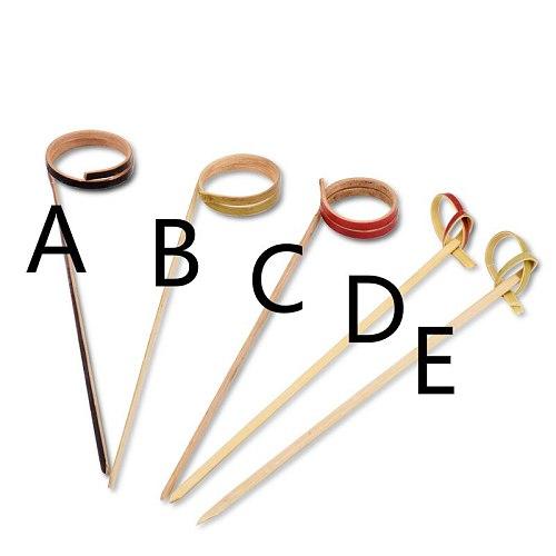 Barware Bar Tools Creative Disposable Bamboo Cocktail Fruit needle 100PC/lot