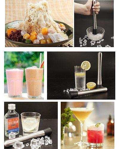 Juice breaker, lemon tea stick, kitchen juicer, Cocktail Muddler Stainless Steel Bar Mixer Pestle Home Drink Mojito-Blender