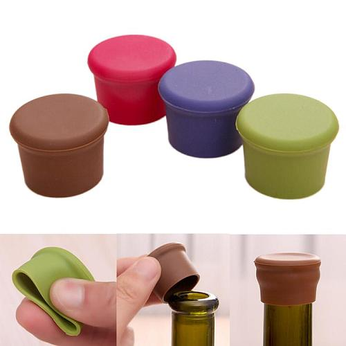 Kitchen Tool Silicone Cap Of Beer Bottle Caps Bottle Cap Of All Kinds Of Drinks The Cover Cap Barware Bar Accessories