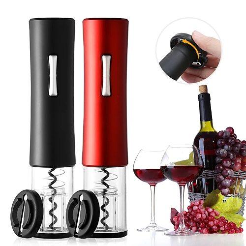 Portable Wine Corkscrew Cordless Corkscrew Wine Opener Automatic Foil Cutter Electric Wine Bottle Openers Kitchen Accessories