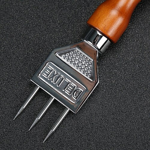 WOFU Direct Shipping Stainless Steel Ice Chisel Ice Removal Ice Pick Crushed Ice Barware Bar Tools Bar Accessories Trident