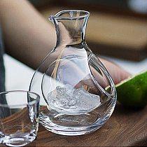 250ML Glass Wine Bottle Hole Sake Glass Ice Jug Hamster Nest Cooling Room Beer Cooler Mini Gift Wine Carafe Superior Decanter