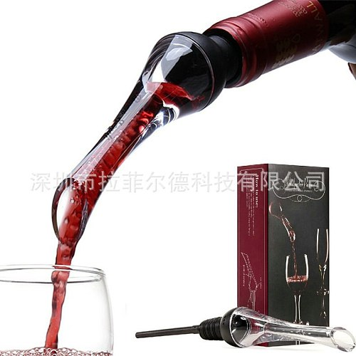 Factory Direct Split Wine Container Fast Wine Decanter Woodpecker Wine Pour Wine Decanter Wine Gift