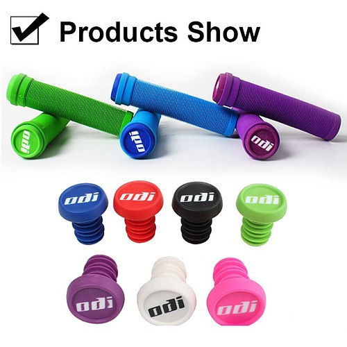 ODI Grips Silicone Bicycle Grips 22mm Road MTB Bike Handlebar Grip with Rubber Handle Bar End Plug Bicycle Accessories