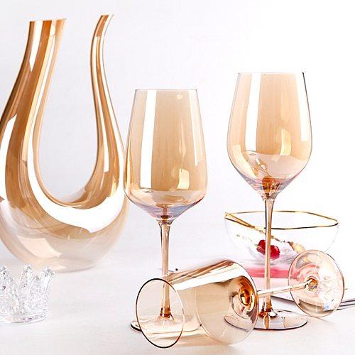 1000ML Big Decanter Handmade Crystal Red Wine Brandy Champagne Glasses Decanter Bottle Jug Pourer Aerator For Family Bar