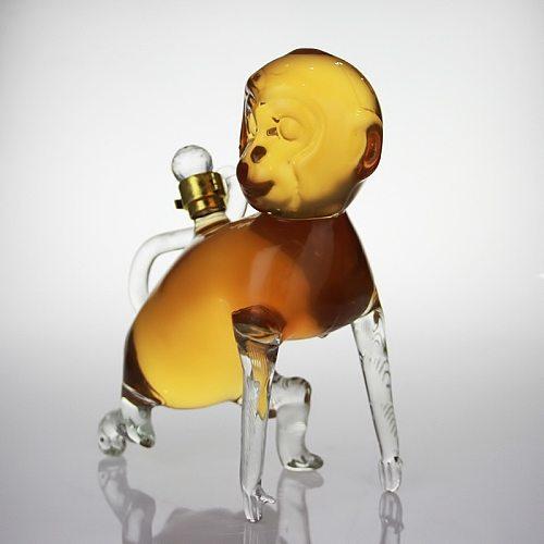Animal monkey shaped design home lead-free whiskey decanter novelty wine bottle wine decanter for Liquor Scotch Bourbon 1201-06