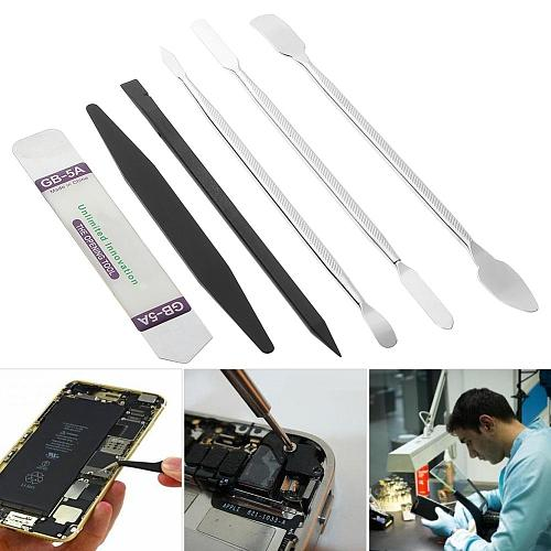 3/4/6pcs Universal Mobile Phone Repair Opening Tool Metal Spudger Kits Disassemble Crowbar Metal Steel Pry Phone Hand Tool Set