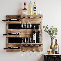 Handmade Modern Wine Rack Wine Rack wine Stand Mini Bar 70x70cm