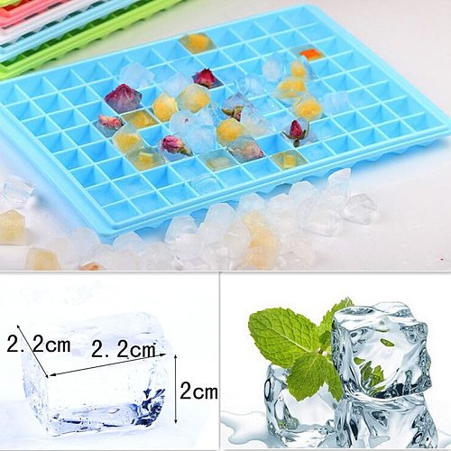 96 Grids DIY Ice Cube Maker Ice Maker Mould PP Plastic Ice Tray Ice Cube Maker Bar Kitchen Accessories Tools Bar Ice Cube Tray