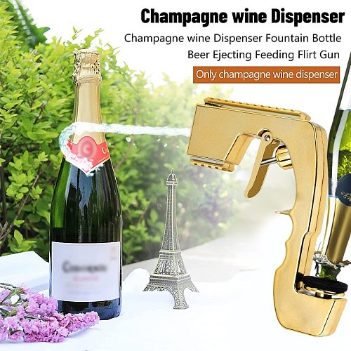 Wine Stopper Champagne Beer Spray Gun Wine Sprayer Squirt Shoot Magic Wine Decanter Ejector Feeding Kitchen Club Bar Party Tools