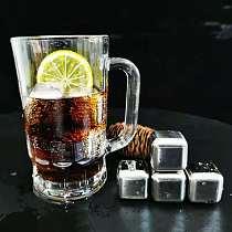 Rvs Ice Cubes, Herbruikbare Chilling Stones Voor Whiskey Wijn, Houd Je Drankje Koud Langer, SGS Test Pass