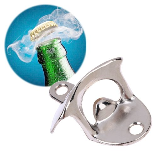 Bottle Opener Wall Mounted Wine Beer Opener Tools Bar Drinking Accessories Home Decor Kitchen Party Supplies
