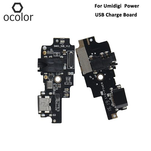 ocolor For Umidigi Power USB Charge Board Assembly Repair Parts For Umidigi Power USB Board Phone Accessories In Stock