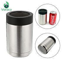 12OZ 400ml Stainless Steel Beer Bottle Can Cold Keeper Holder Cup Double Wall Vacuum Insulated Bottle Cooler Bar Accessories