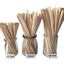 500pcs wooden coffee stirrers cold or hot drinking mixing sticks food grade birch wood beverage stir sticks for tea cream sugar