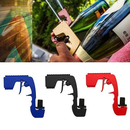Champagne Gun Champagne Wine Dispenser Bottle Beer Ejector Feeding Bottle Beer Spray Gun Kitchen Party Bar Tools
