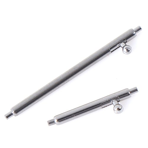10Pcs Quick Release Spring Bars Stainless Steel Watch Band Strap Pin Bar Tool Parts 12~24mm