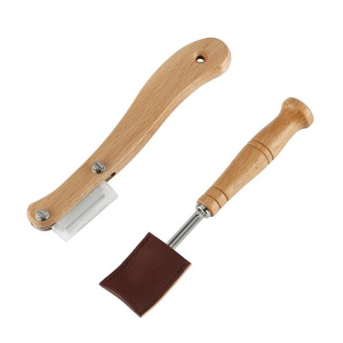 New Bread Bakers Cutter Tool Dough Making Razor Cutter Curved Knife With Protection For Baking Slashing Dough Scoring Blade Tool