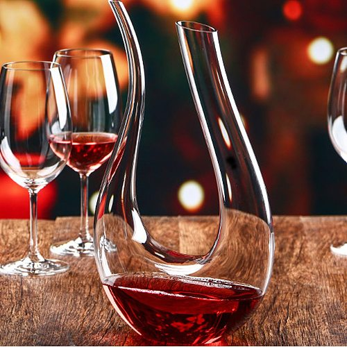 Handmade Crystal Red Wine Whiskey Decanter Pourer Glass Brandy Decant Set Jug Bar Champagne Water Bottle Drinking Glasses Gifts