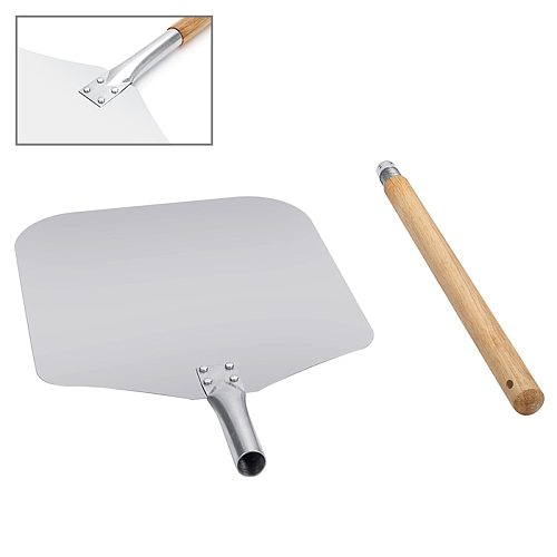 Aluminum Pizza Shovel Peel With Long Handle Pastry Tools Accessories Pizza Paddle Spatula Cake Baking Cutter