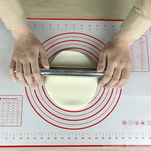60*40cm Silicone Rolling Pins & Pastry Boards Baking Sheet Rolling Dough Pastry Cakes Bakeware Liner Pad Mat Oven Pasta