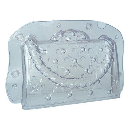 Chocolate Mould 3D Handbag-Shaped Baking Mold Candy Plastic Baking Tools Cake Decorating Tools