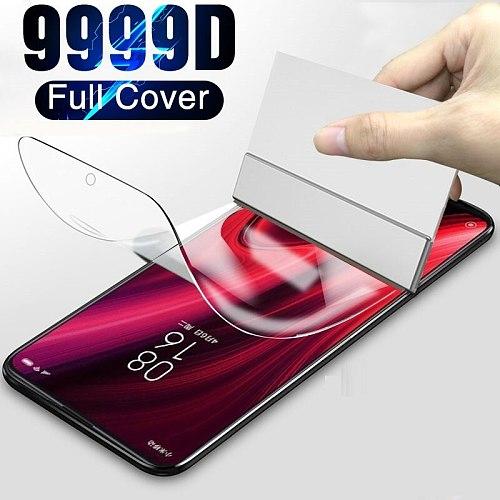 Front Hydrogel Film Screen Protector For Vivo NEX3 NEX3 5G V17 Pro Z1x Soft Film For Vivo iQOO Pro Y93(Not Tempered Glass)
