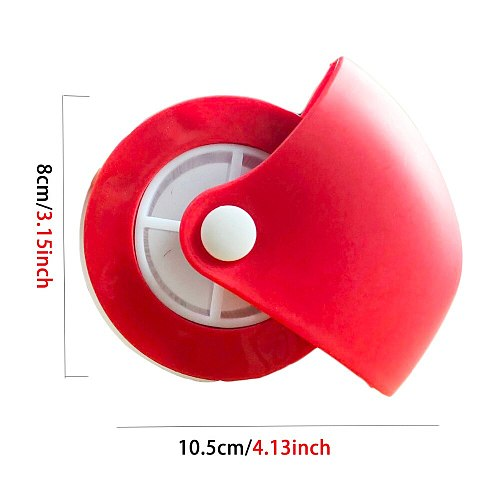 KHGDNOR Pizza Pastry Lattice Cutter Pastry Pie Decoration Cutter Plastic Wheel Roller for Pizza Pastry Pie Crust Baking Cutter
