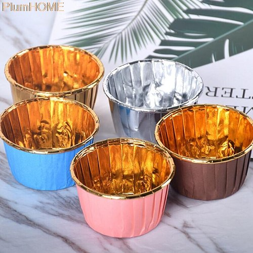 Brand new and practical Cake Cupcake Liner Baking Muffin Tray Cake Mold Decorating Tools 50PCS/1000PCS