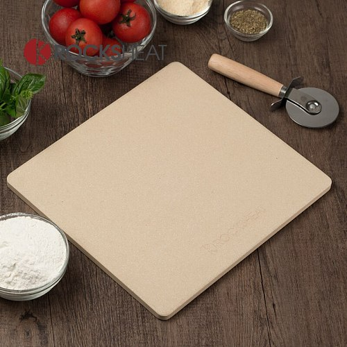 Baked stone slab 26X28X1.2cm pizza board cordierite oven baking tray pizza baking stone bakery tools kitchen appliance