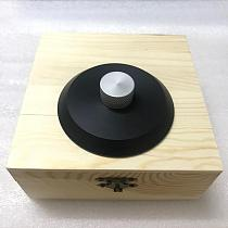 High-End LP deluxe POM Material LP Vinyl Turntables Disc Stabilizer Record Weight/Clamp wood pack box to chose
