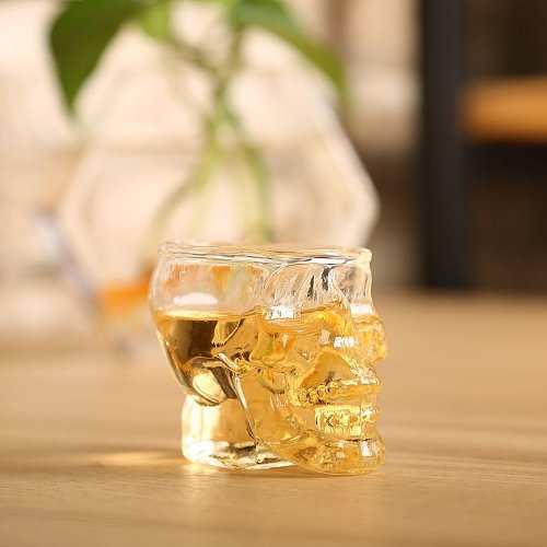 Head Shot Glass Cup Wine Mug Beer Glass Mug Crystal Whisky Vodka Tea Coffee Cup 80ml Gift Water Bottle