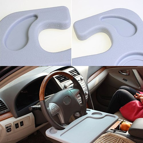 1Pc Car Laptop Desk Multifunction Steering Wheel Holder Stand  for BMW E46 E39 Audi A4 B6 A3 VW Polo Passat B6 B5 Accessories