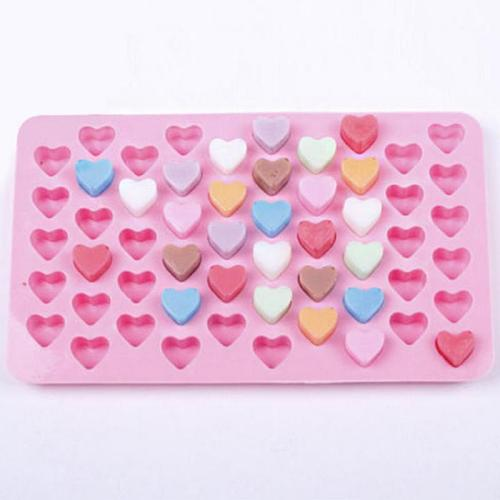 Heart Silicone Cake Chocolate Cookies Baking Mould Mold Tray Cake Silicone Mold Chocolate Cookies Baking Mould Brand new