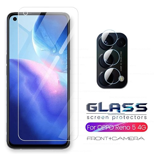 camera protective glass cover for oppo reno 5 reno5 Renault 5 2020 4g 5g cph2159 6.43'' HD explosion-proof screen protector film
