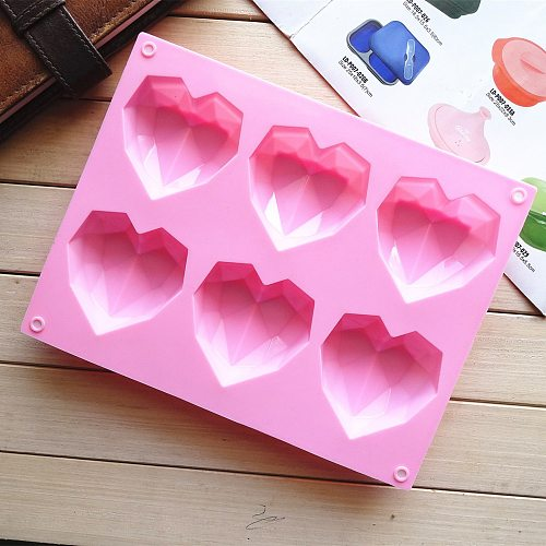 Silicone Mold Baby Birthday Cake Decorating Tool Heart-shaped Sphere Silicone Cake Mold Muffin Chocolate Cookie Baking Mould Pan